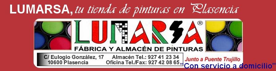 Lumarsa, tu tienda de pinturas en Plasencia