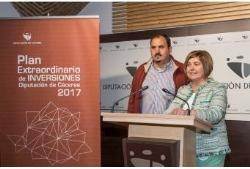 La Presidenta presenta el Programa Extraordinario de Inversiones de la Diputación dotado con 6 millones de euros-