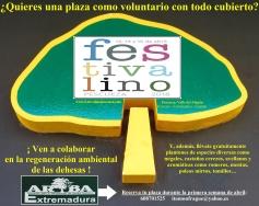 REGENERACION AMBIENTAL DE LAS DEHESAS  (Y MAS): FESTIVALINO 2018