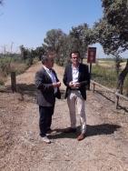 La Vía Verde Vegas del Guadiana, que une las localidades de Villanueva de la Serena con Logrosán, tendrá un uso ecoturístico.