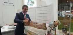 Extremadura exhibe en Meat Attraction los mejores productos cárnicos de la región.