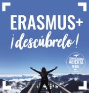 Abierto el plazo para solicitar el programa ERASMUS+ Estudios para el próximo curso.