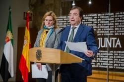 Fernández Vara apuesta por un mando único y una unidad de acción coordinada como la mejor defensa para luchar contra la pandemia