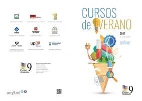 El Grupo 9 de Universidades oferta 8 cursos de verano on-line en su V edición.