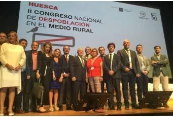 """La Presidenta de la Diputación reclama """"un enfoque local de todas las políticas"""" para luchar contra el despoblamiento"""