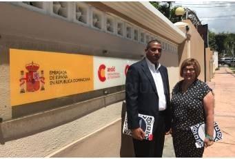 La presidenta de la Diputación y de FELCODE anuncia la cooperación en proyectos de ecoturismo en la República Dominicana