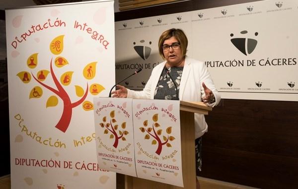 La Presidenta presenta DIPUTACIÓN INTEGRA, destinado a la creación de empleo en el mundo rural para personas con discapacidad