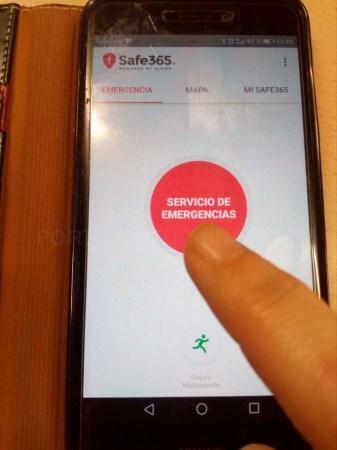 La aplicación móvil Alpify, un servicio de localización a través de GPS,disponible en el Centro de Urgencias y Emergencias 112.