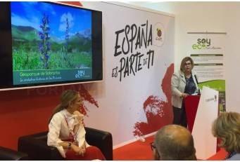 Rosario Cordero,ha incidido en la necesidad de la cooperación público-privada y la visibilización del producto ecoturismo para que sea más consumido.