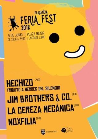 El Feria Fest Plasencia 2018 tendrá lugar el 9 de junio en la Plaza Mayor.