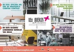 Abierta la convocatoria de Becas UEx_QUERCUS+ 2018/19 para realizar prácticas en empresas u organizaciones europeas.