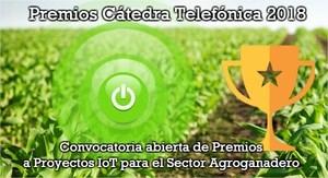 Se convoca los premios anuales a proyectos relacionados con proyectos IoT en el sector agroganadero.