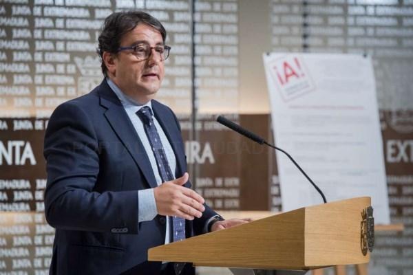 La Junta presenta los actos de la Semana de la Arquitectura en Extremadura.