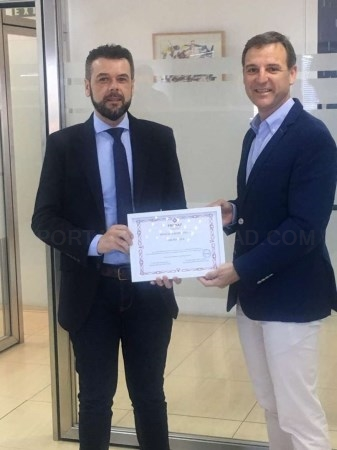 La Sociedad de Gestión Pública de Extremadura (GPEX) ha sido premiada  por su labor en actuaciones de materia de prevención en riesgos laborales.