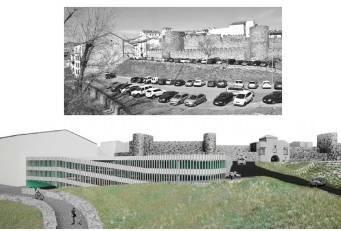 Ayuntamiento de Plasencia y Diputación, se reúnen para abordar las obras del aparcamiento de Eulogio González.
