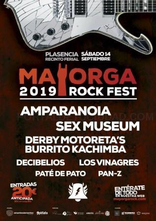 La ciudad de Plasencia acoge la séptima edición del Mayorga RockFest, el festival de rock del Norte de Extremadura.