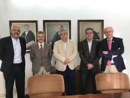 La Universidad de Extremadura firma con ENRESA un nuevo convenio de colaboración que da continuidad a la Cátedra de Ingeniería Ambiental Enresa UEx.