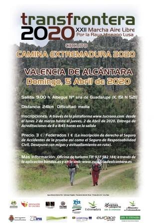 """XXII Edición de la Ruta de Senderismo """"Transfrontera"""""""