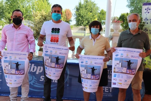 Del 20 al 23 de este mes se celebra el XXX Open Ciudad de Lares que organiza el Tenis Club
