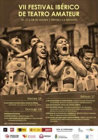 Finaliza el VII Festival Ibérico de Teatro Amateur