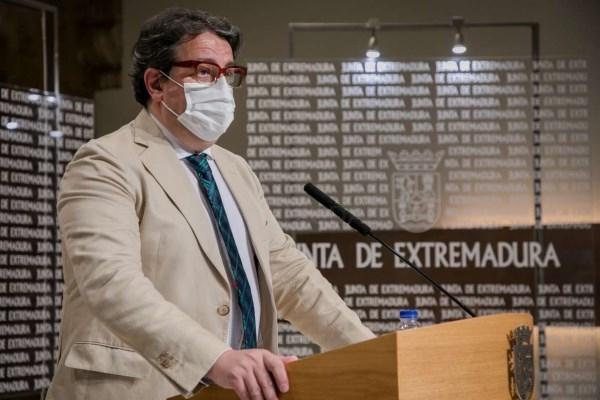 Extremadura flexibilizará las medidas contra la covid-19 la próxima semana en función de la incidencia que se registre