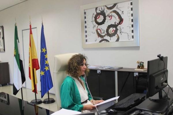 Olga García destaca el esfuerzo de la Junta de Extremadura para construir depuradoras sostenibles en pequeños municipios