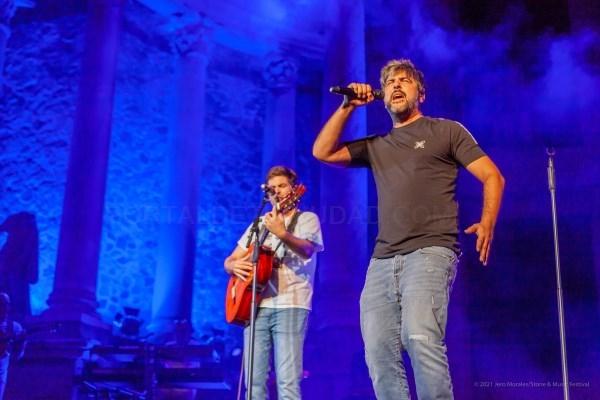 Stone&Music Festival y Estopa ponen el broche de oro al Día de Extremadura