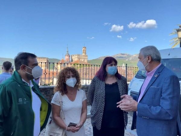 Begoña García asiste al X aniversario del Geoparque Mundial de la Unesco Villuervas – Ibores