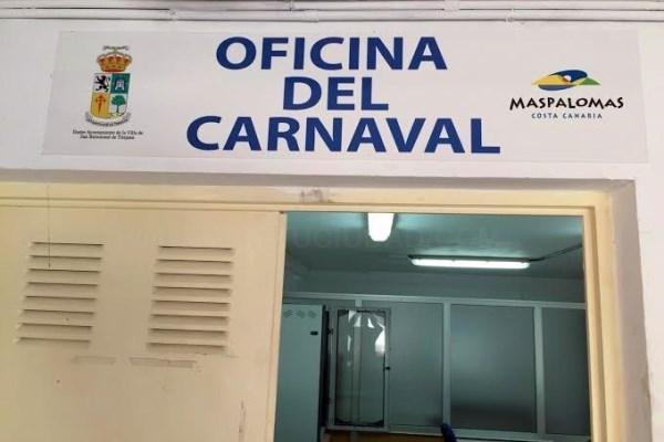 Abre la oficina del Carnaval Internacional de Maspalomas