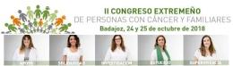 II CONGRESO EXTREMENO DE PERSONAS CON CANCER Y FAMILIARES