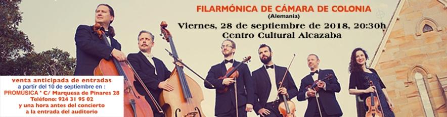 Filarmónica de Cámara de Colonia en Mérida