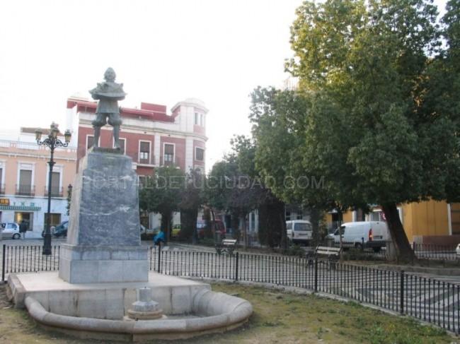 Plaza de Cervantes San Andres