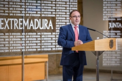 SE HA PRESENTADO EN MERIDA EL STAND Y LAS ACTIVIDADES DE EXTREMADURA EN LA FERIA INTERNACIONAL DE TURISMO, FITUR. SE CELEBRARA EN MADRID DEL 17 AL 21