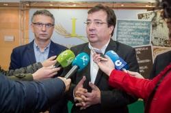 Fernández Vara reclama la unidad del sector para garantizar el futuro del cultivo del arroz