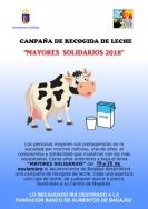 Campaña Solidaria de recogida de leche bajo el lema