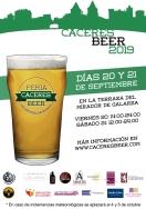 """La VI Feria Internacional de Cerveza Artesanal """"Cáceres Beer 2019"""" ya está en marcha"""