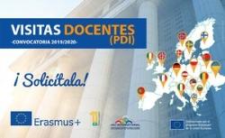 Se publica la convocatoria de Visitas Docentes ERASMUS+ para realizar estancias en universidades europeas