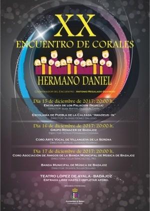 """XX Encuentro de Corales """"Hermano Daniel""""."""