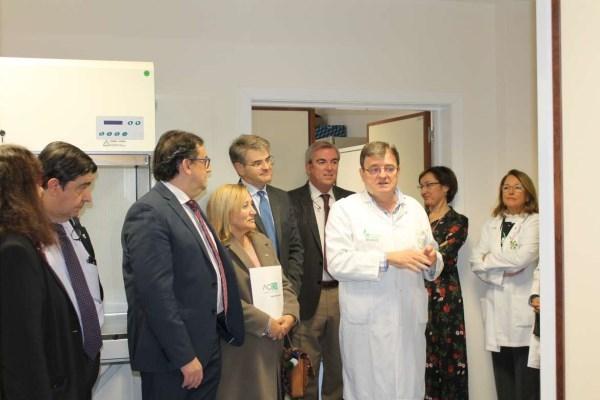 La Junta impulsa el Banco de Tumores y los dispositivos pediátricos del complejo hospitalario universitario de Badajoz.