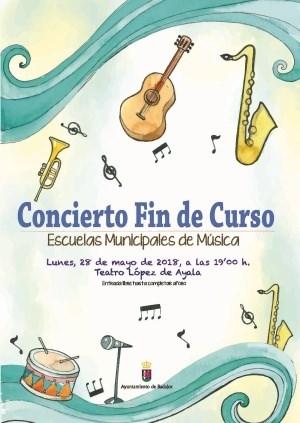 Escuelas Municipales de Música: Concierto Fin de Curso