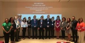 """La UEx se reúne en Argentina para continuar con el proyecto """"TIC Cruz del Sur: Uso de las TIC para la gestión integral de la internacionalización."""
