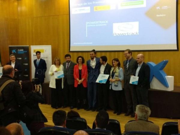 Powertrack gana los Premios Emprendedor XXI en Extremadura