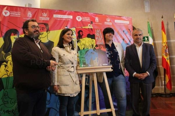 La portavoz de la Junta de Extremadura,ha querido poner en valor el papel de los activistas LGTBI en el año en que se cumplen 40 años de constitución.