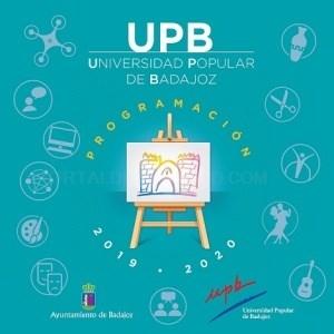 La Universidad Popular, abre el plazo para la  presentación de las solicitudes a los cursos y talleres contemplados en la Programación de Actividades.