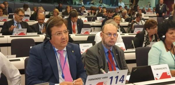 Extremadura reclama en Bruselas que la Política de Cohesión sea un instrumento para una transición ecológica justa.