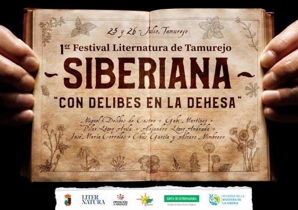 Bajo el título de 'Con Delibes en la dehesa', se celebra el I Festival Liternatura Siberiana de Tamurejo