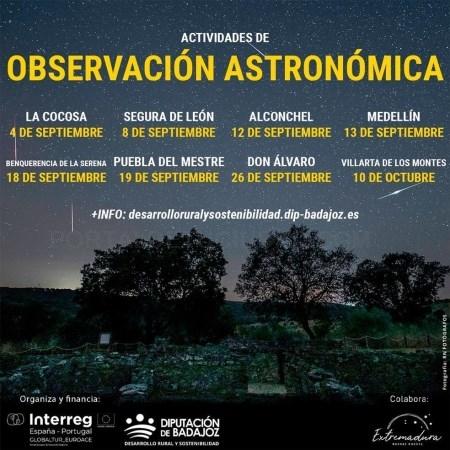 Un programa promueve 'el cielo estrellado' como recurso turístico