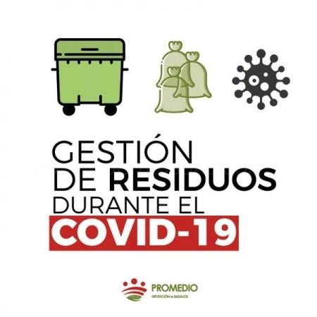 Promedio recuerda el uso de tres bolsas de basura en los hogares con casos positivos o en cuarentena