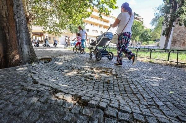La reparación de acerados en la ciudad se adjudica por 253.000 euros