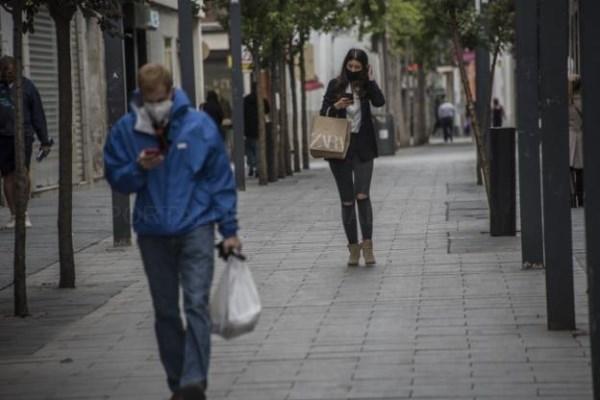 El empeoramiento de la pandemia deja al comercio de Badajoz sin clientes portugueses